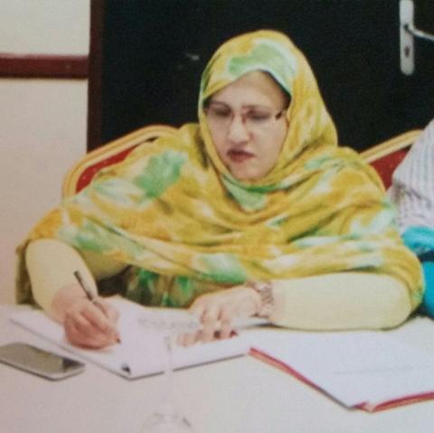 فاطمة بنت محمد المصطفى سياسية و حقوقية