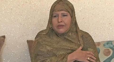 بنت الميداح خلال التصريح الصحفي